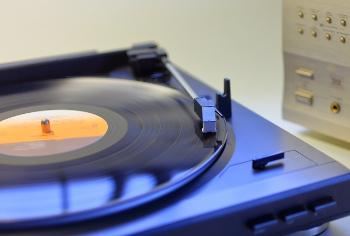 レコードプレーヤの画像